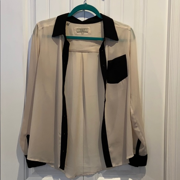 Guess Sheer blouse